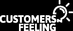 customers feeling logo en blanco